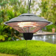 1500W Outdoor Electric Pendant Heaters Ceiling