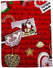 150x220cm Christmas Tablecloth Dinner New Year