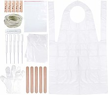 158 Pieces DIY Tie Dye Kit for Kids Adult Party