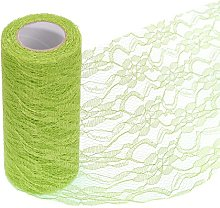 15cm x 10Yards Vintage Hard Lace Roll Netting