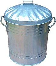 15L Litre Small Metal Rubbish Dustbin / Mini