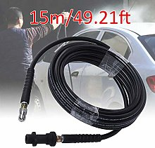 15m/49.21ft Pipe Tube Cleaning Hose for Karcher 2