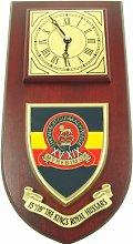 15th / 19th Kings Royal Hussars Wall / Mess Clock