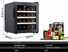 16 Bottle Thermoelectric Wine Cabinet - Red and
