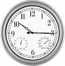 16 Inch Large Indoor Outdoor Waterproof Wall Clock