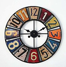 16 inch Vintage Wall Clock Decorative Wooden Clock