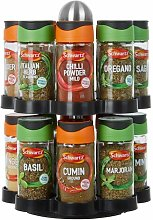 16-Jar Free-Standing Spice Rack All Home