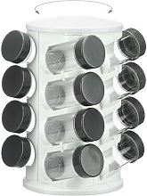 16 Jar Free-Standing Spice Rack Symple Stuff