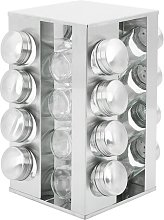 16 Jar Free Standing Spice Rack Symple Stuff