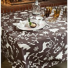 160 cm W x 160 cm D Round Wipe-clean Tablecloth