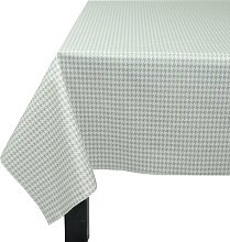 160 cm W x 160 cm D Square Wipe-clean Tablecloth