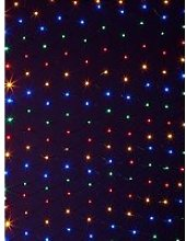 160 Net Curtain Led Indoor/Outdoor Christmas Lights