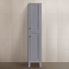 1600mm Matte Grey Bathroom Furniture Tall Modern