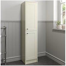 1600mm Tall Bathroom Cabinet Floorstanding Ivory