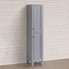 1600mm Traditional Tall Cabinet Cupboard Floor