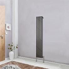 1600x354 Oval Column Designer Radiator Bathroom