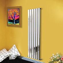 1600x408 Vertical Flat Panel Radiator Bathroom