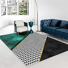 160x230cm Anti Slip Rug Area Rug Green Carpet