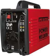 160XT Arc Welder 160Amp with Accessory Kit - Sealey
