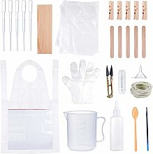165 Pieces DIY Tie Dye Kit for Kids Adult Party
