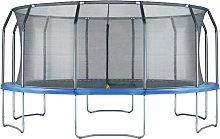 16ft Trampoline & Enclosure Blue - Air League