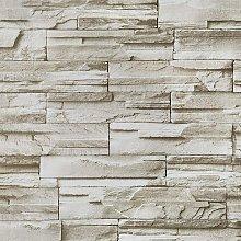 17.7'x197''Brick Stone Wallpaper