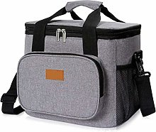17L Portable Cooler Bag Thermal Lunch Picnic Box