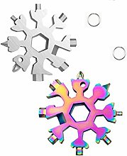 18 in 1 stainless steel snowflake multi-function