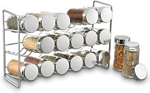 18 Jar Compact Free-Standing Spice Rack Symple