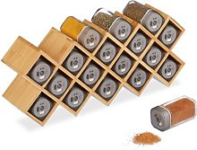 18-Jar Free-Standing Spice Rack Symple Stuff