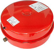 18 Litre Flat Heating Expansion Vessel Red