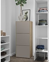 18 Pair Shoe Storage Cabinet Brayden Studio