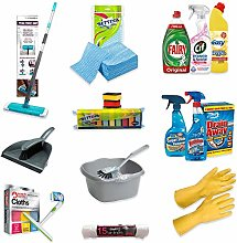 18+ pc Ultimate Home Cleaning Kit - Easy, Fairy,