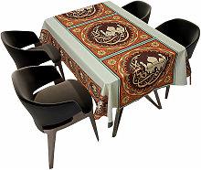 180 * 140cm Ramadan Kareem Tablecloth Waterproof