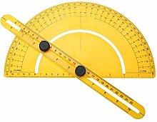 180 Degree Angler Measuring Rotary Protractor