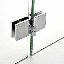 180° Double Side Glass Doors Hinge Cupboard
