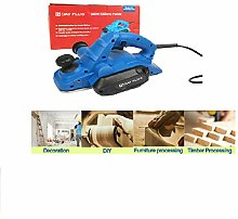 18000rpm Corded Electric Planer in Kit Box 650W