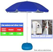 180cm Garden Patio Parasol Parasol Beach Umbrella