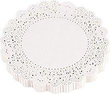 180pcs Lace Paper Cake Mat Hollow Out Decorative