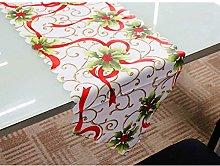 180x36cm Merry Christmas Table Runner Tablecloth