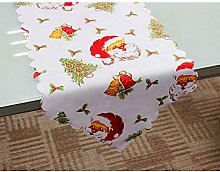 180x36cm Merry Christmas Table Runner Tablecloth
