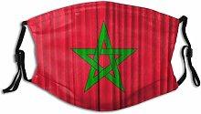 183 Orocco Flag On Curtain Rc Uniex Wahable And