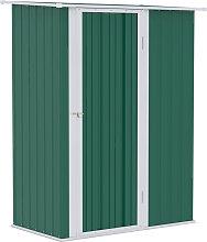 186x143cm Corrugated Steel Garden Shed Equipment