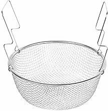 18cm Stainless Steel Chip Pan Basket Deep Fryer