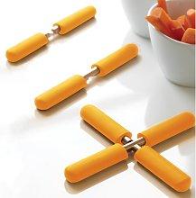 18cm Trivet Symple Stuff Colour: Orange