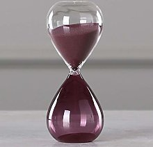 18H006 Hand-Blown Timer Clock Magnetic Glass