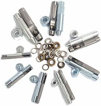 18mm Eyelet Punch Die Tool Set for Leather Crafts