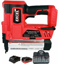 18V Cordless 2nd Fix Nailer with 1 x 2.0Ah Battery
