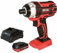 18V Cordless Impact Driver with 1 x 2.0Ah Battery