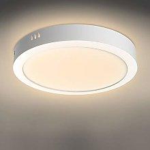 18W Led Ceiling Light Fitting,Warm White.Flush